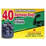 Strongmor Garbage Bags- Extra Strong (40 Bags) 111408