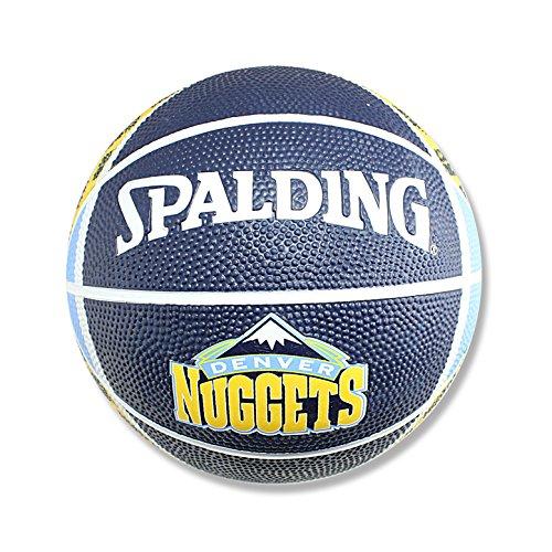 NBA Denver Nuggets Mini Basketball, (Denver Nuggets Basketball)