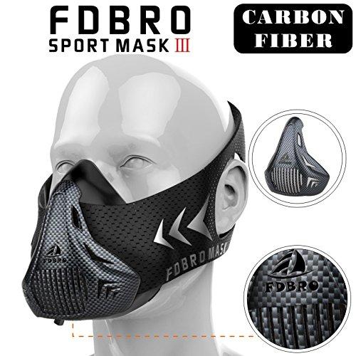 fdbro máscara de deportes gran altitud elevación simulation-running 、 ciclismo, cardio, Fitness, entrenamiento de...