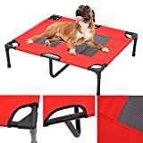 TF-Godung Pet Dog Cat Sleep Bed Elevated Camping Portable Raised Pet Cot Large Indoor Outdoor