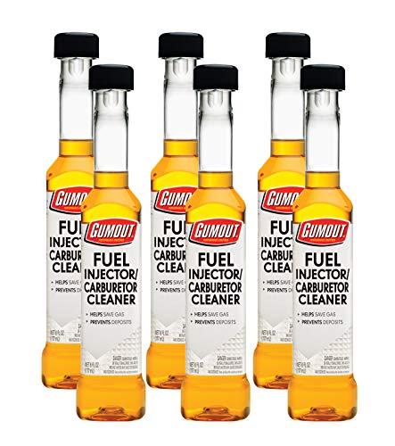 Gumout 510021 Fuel Injector & Carburetor Cleaner, 6 oz. (Pack of - Injector Carburetor Fuel