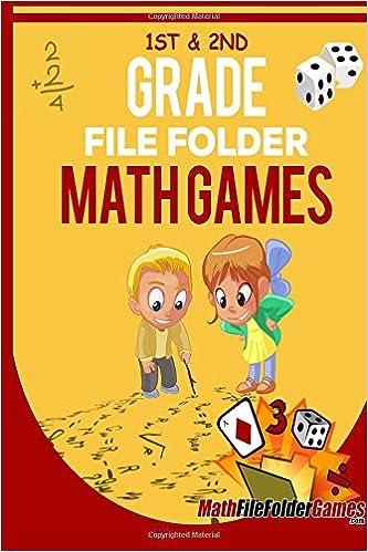 Amazoncom 1st 2nd Grade File Folder Math Games Book 1