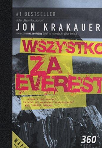 Wszystko za Everest Jon Krakauer