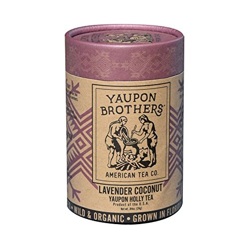 - Yaupon Brothers Lavender Coconut Tea, Organic, Eco-Tube with 16 teabags