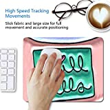 Square Round Computer Mouse Pad Chill Pills Skid Proof Light Rubbery High Tracking for Office, Gaming and Home Light Weight