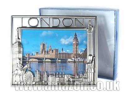 Amazon Metal Photo Picture Frame Nickel Effect London
