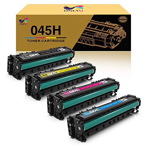 ONLYU Compatible Toner Cartridge Replacement for Canon 045 045H CRG-045H...