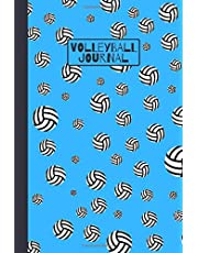 Volleyball Journal: Blank Lined Notebook for Sport Lovers