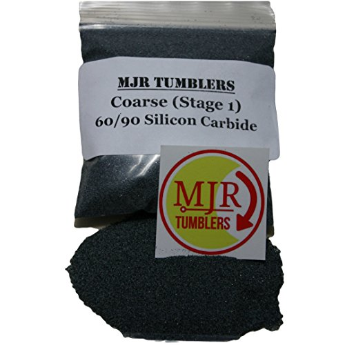 MJR Tumblers 4 lb Silicon Carbide 60/90 Rock Grit by MJR Tumblers