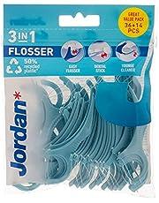 Jordan Flosser 3 in 1 Tandenstoker, 36 Stuk