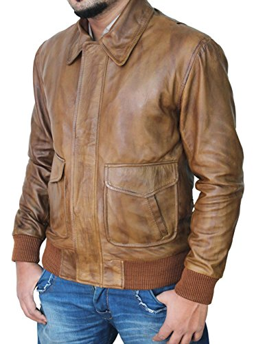 Mens Leather Racing Jacket - 4
