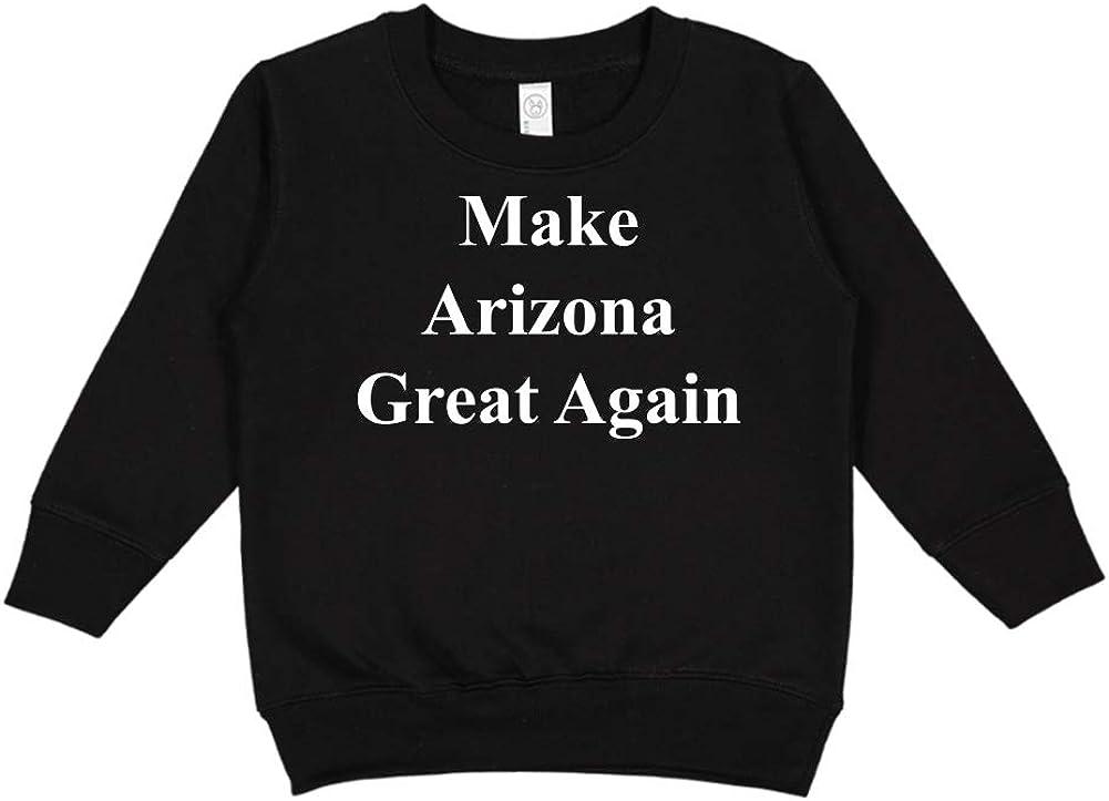 Make Arizona Great Again MAGA Trump Republican Toddler//Kids Sweatshirt