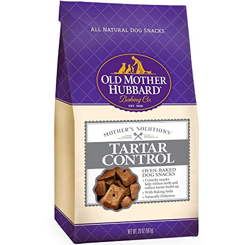 Old Mother Hubbard Mother'S Solutions Tartar Control Crunchy Natural Dog Treats, 20-Ounce Bag ()