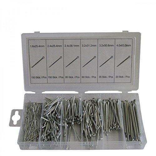 Normex Splinte Sortiment 500-tlg. 1255