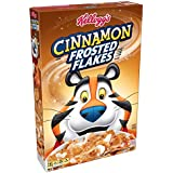 Kellogg's Breakfast Cereal, Frosted Flakes, Cinnamon, Fat-Free, 13.6 oz Box