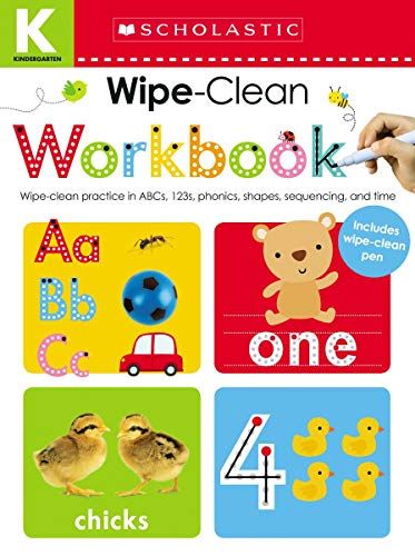 Wipe Clean Workbook: Kindergarten (Scholastic Early Learners) (Activity Scholastic Books)