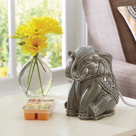 Full Size Wax Warmer Elephant, Beige BH16-060-999-11 by Better Homes and Gardens