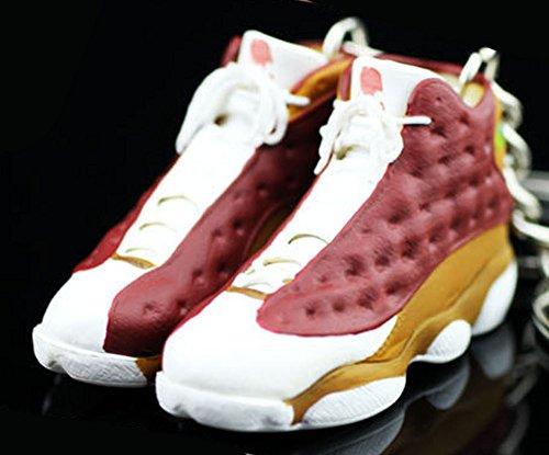Mj Slam Dunk - Air Jordan XIII 13 Retro BIN23 BIN Premio OG Sneakers Shoes 3D Keychain Figure