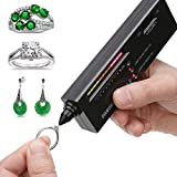 Professional Diamond Selector II, Gem Tester Pen Portable Electronic Diamond Tester Tool for Jewelry Jade Ruby Stone
