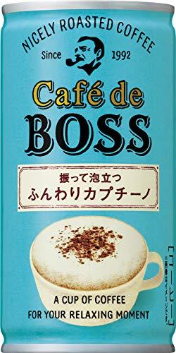 산토리 cafe de boss부드러운 카푸치노 커피 180g ×30개