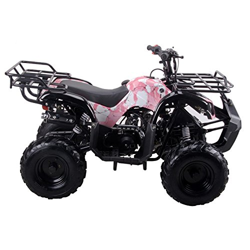Coolster ARMY PINK 3125R New 125CC Kids ATV Fully Auto with Reverse by CRT MOTOR INC -US (Image #1)
