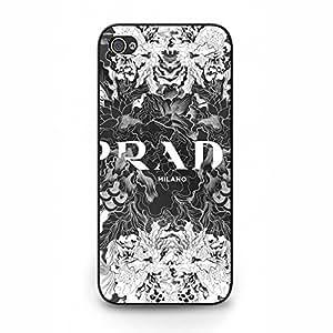 Iphone 5/5s Blooming Flowers Logo Pradaa Phone Case Cover