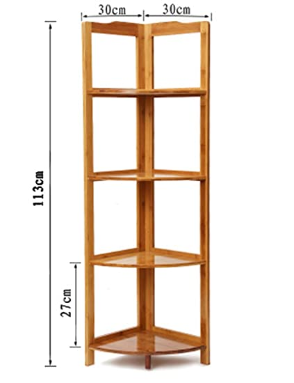 Amazon.com: Bookcase Corner Shelves Home Corner Cabinet ...