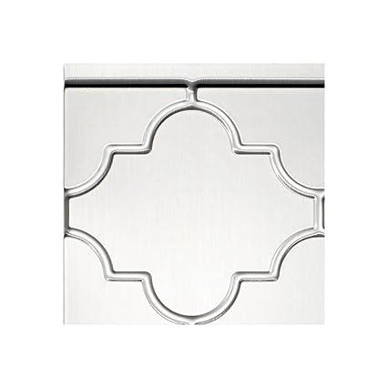 Amazon Com Fasade Easy Installation Monaco Brushed Aluminum
