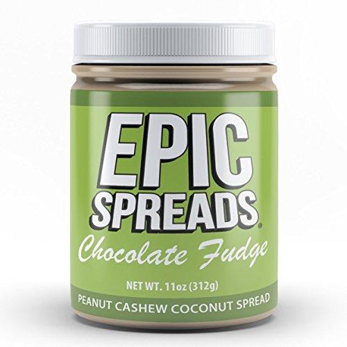 Epic Spreads Nut Butter (Chocolate Fudge Peanut Cashew Coconut) ()