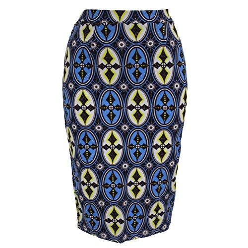 christmas-tomyork-african-fashion-print-bodycon-midi-skirtbluem