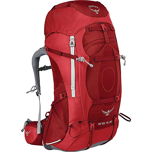 Osprey Packs Women's Ariel AG 75 Backpack, Picante Red, Small