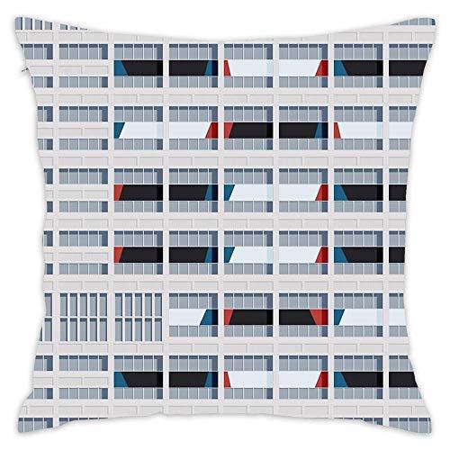 Le Corbusier Sofa Bed - Hsdfnmnsv Le Corbusier Facade S03-2 Home Decor Decorative Throw Pillow Cover Case Sofa Waist Coach Pillowcase Cushion Cover (18