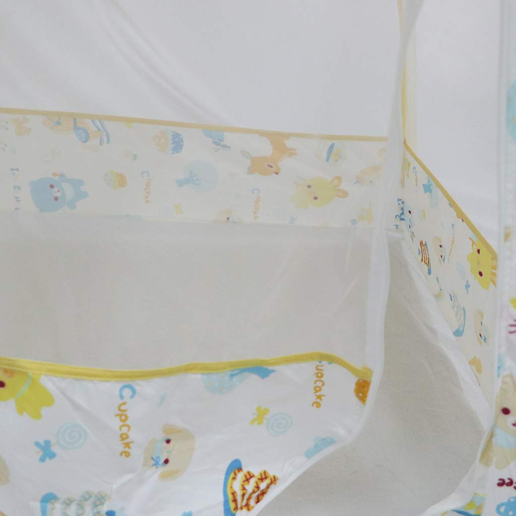 F Fityle Baby Krippe Bett Moskitozelt Moskitonetz Moskito Schutz Zelt aus Stoff