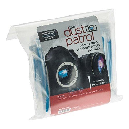 Dust Patrol Alpha 20mm Sensor Cleaning Kit 6 (100 Pieces) [JU2155] by Dust Patrol