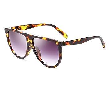 QDE Gafas de sol Gafas De Sol Cuadradas Extragrandes. Lente ...
