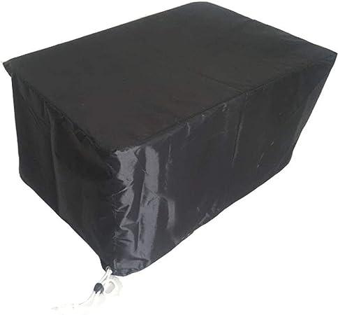 Conjuntos de Muebles Funda Mesa Jardin PVC El Patio Impermeable Cubiertas De Exterior para Muebles. para Sillas Y Mesas De Jardín 13 Tallas (Color : Black, Size : 126x126x74cm): Amazon.es: Hogar