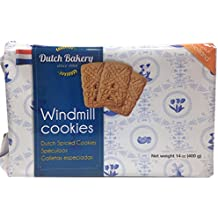Dutch Bakery Hollandse Speculaas Windmill Cookies - 14 ounces (Pack of 1)