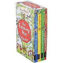 Enid Blyton The Magic Faraway Tree Collection 4 Books Box Set Pack (Up The Faraway Tree, The Magic Faraway Tree, The Folk of the Faraway Tree, The Enchanted Wood)