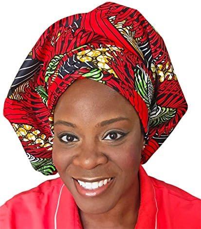 c8b3f05aeac Royal Gele Headwear African Head Wrap Tribal Scarf Gele. Stylish Headgear  Made Of Ankara Red