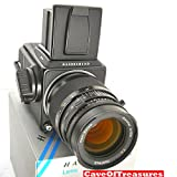 MINT Hasselblad 501CM, 150mm CF Lens, Very Late A12 Back, CLA May 2017