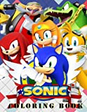 img - for Sonic Coloring Book: All Your Favorite Sonic Characters. book / textbook / text book