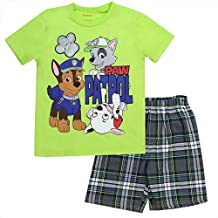 Paw Patrol Little Boys' Tee and Shorts Set