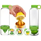 Lemon Zinger Infuser Bottle - Green