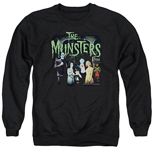 Crewneck Sweatshirt: The Munsters- 1313 50 Years Size