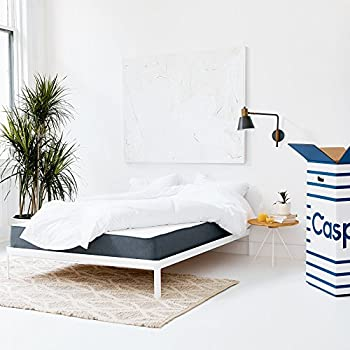 Casper Sleep Mattress – Supportive, Breathable and Unique Memory Foam – Scientifically Engineered for your Best Sleep - 10 Year Warranty - 100 Day Free Return - Bed in a Box - Queen