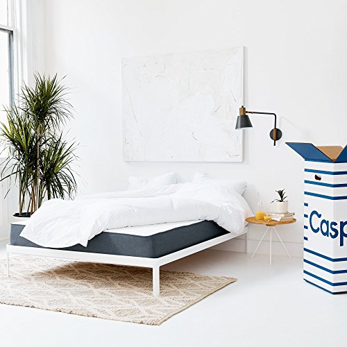 Casper Sleep Mattress – Supportive, Breathable and Unique Memory Foam – Scientifically Engineered for your Best Sleep - 10 Year Warranty - 100 Day Free Return - Bed in a Box - Twin by Casper Sleep