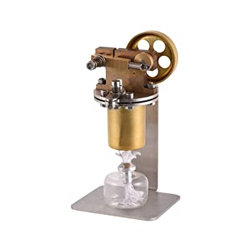 カラフルなLED ホットエアースターリングエンジン トキット ギフ 教育玩具 電気発電機 Aibecy 物理学実験 スターリングエンジンモデル モーターモデル