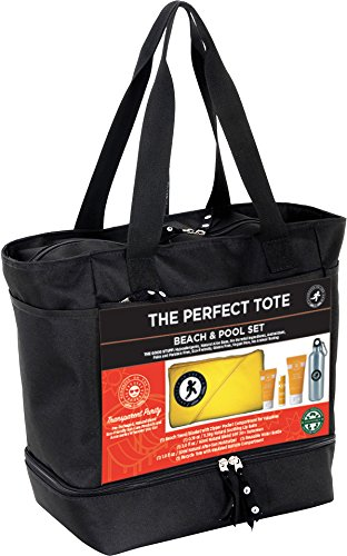 Sunshine On The Go Perfect Beach Tote and Sun Care Travel...