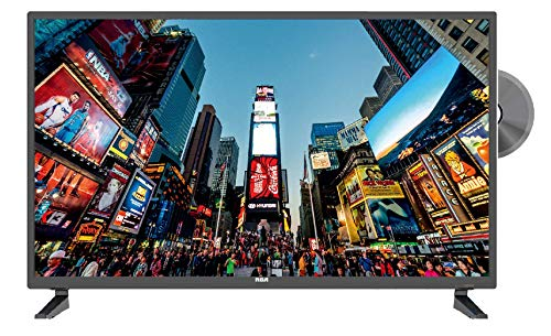 RCA 32' Class HD (720P) LED TV with Built-in DVD Player TV-DVD Combo (RLDEDV3255-A) (Renewed)