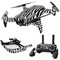 MightySkins Skin for DJI Mavic Air Drone - Black Zebra | Max Combo Protective, Durable, and Unique Vinyl Decal wrap cover | Easy To Apply, Remove, and Change Styles | Made in the USA